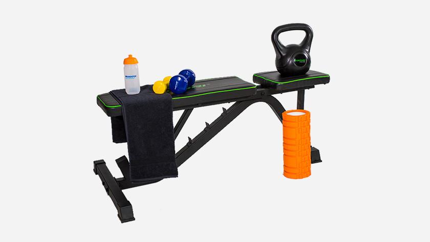 Thuis trainen met fitnessbank