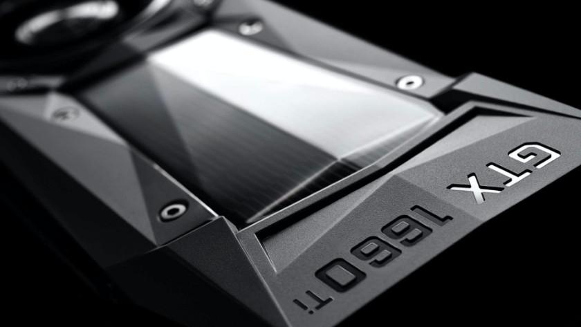 Een NVIDIA GeForce GTX videokaart.