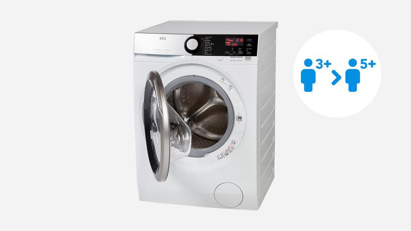 Load capacity AEG washing machine 7000 series
