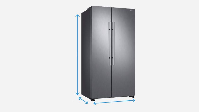 Dimensions d'un réfrigérateur américain