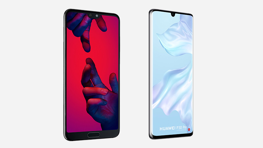 Huawei toptoestellen