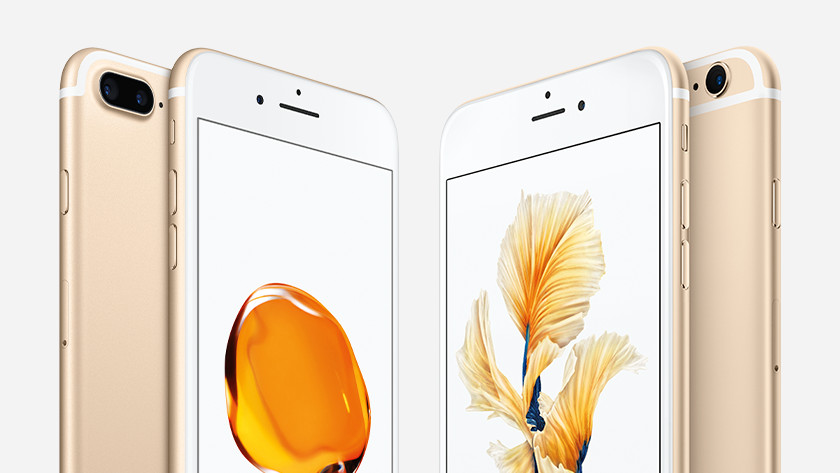 Apple iPhone 6s Plus kleuren