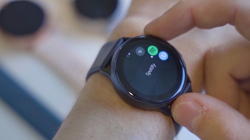 Bediening Samsung Galaxy Watch Active