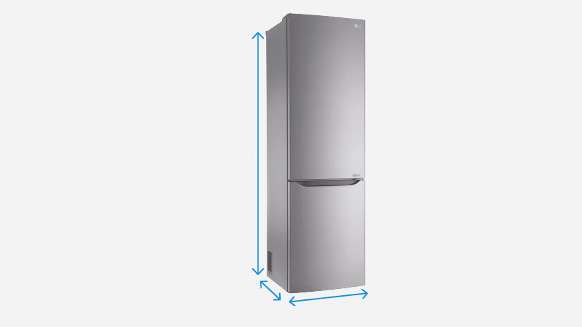 Quelles Sont Les Dimensions D Un Refrigerateur Coolblue Avant 23 59 Demain Chez Vous