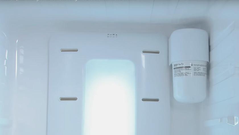Réfrigérateur avec filtre à eau interne