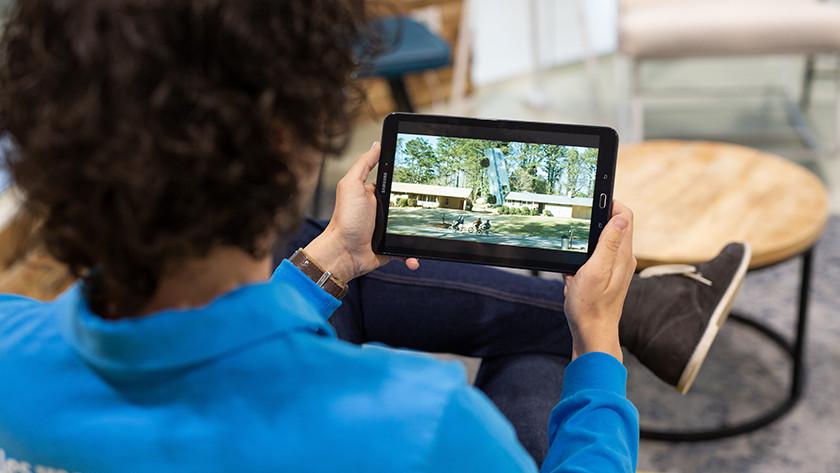 Regarder des séries en Full HD sur une tablette