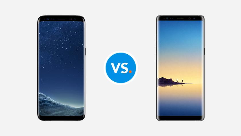 S8 (Plus) vs Note 8