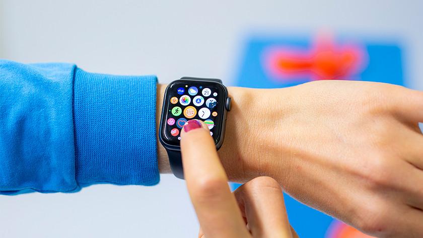 Apps op Apple Watch Series 4
