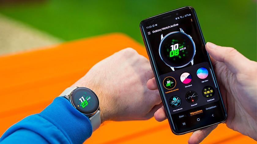 Samsung Galaxy Watch Active smartphone notificaties