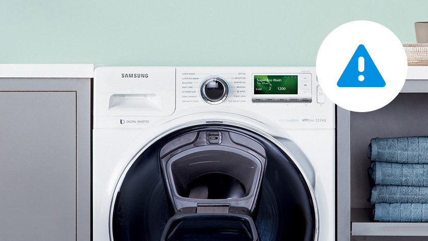 Samsung wasmachine storing