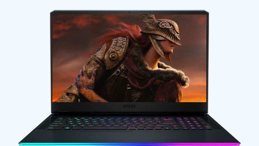 Laptop met Elden Ring