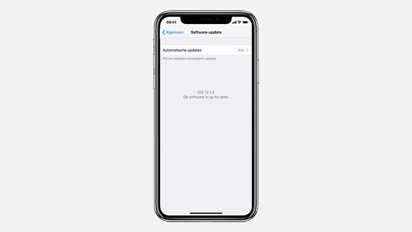 Mises à jour iOS