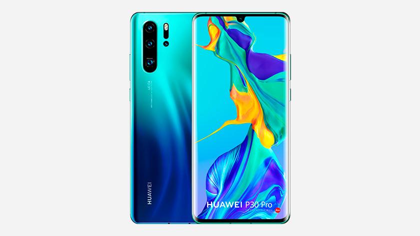 Huawei kleur buitenkant design