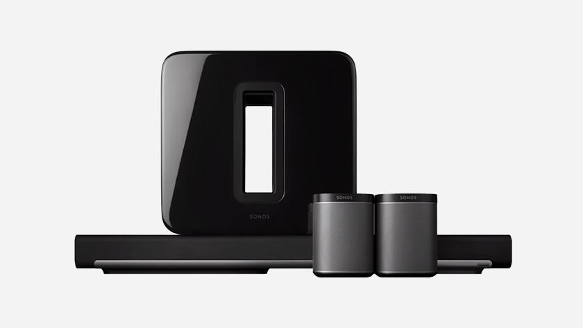 SONOS multiroom wifi speakers