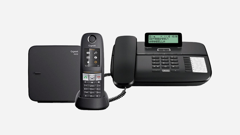 Fixed telephones for business use