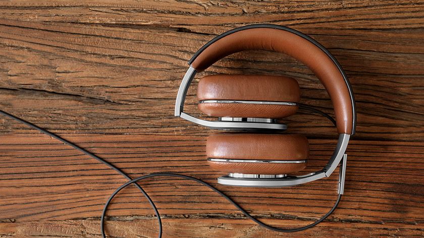 Headphones folded