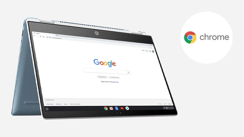 Internet op een HP Chromebook