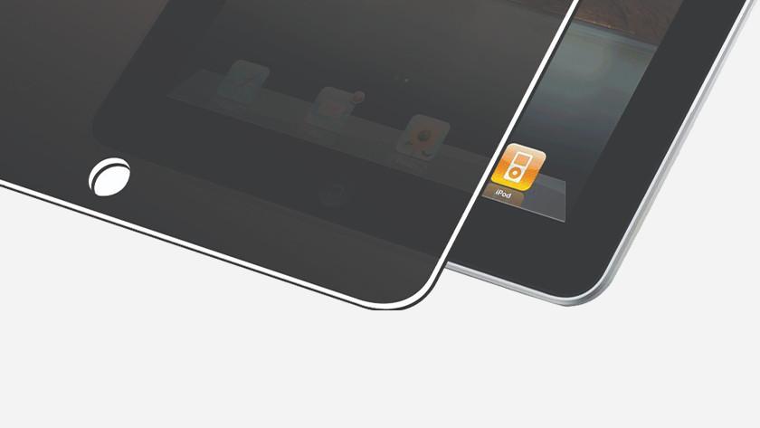 Privacy screenprotector op iPad