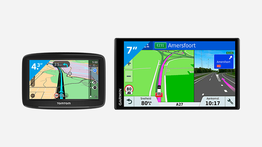 Size car navigation