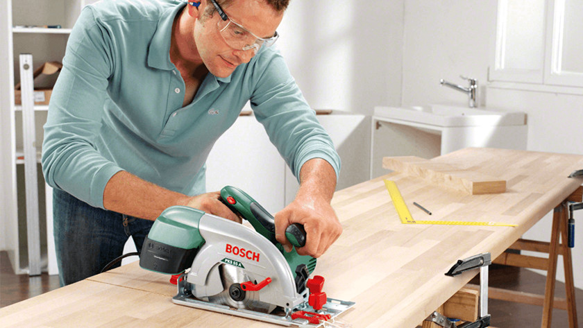 What are you going to see with a circular saw?