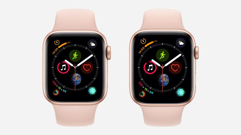 Apple Watch Series 4 40 en 44 mm