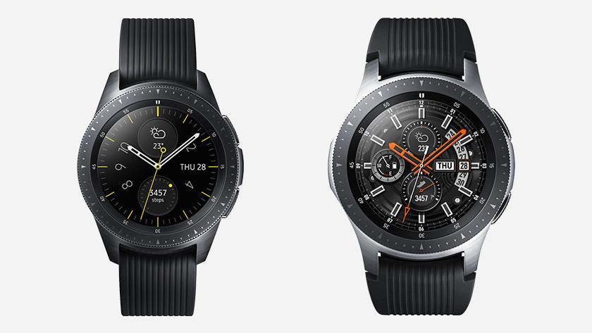 Samsung Galaxy Watch format