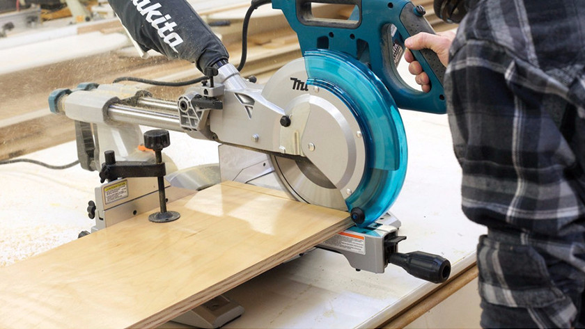 Using a radial arm saw