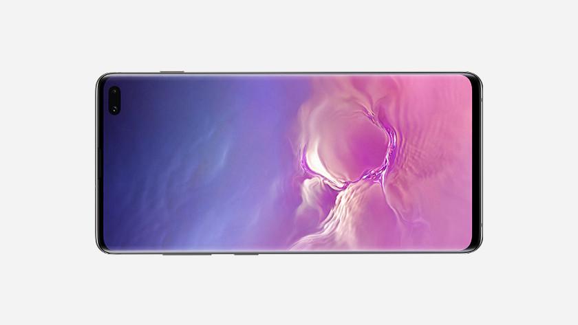 Samsung Galaxy S10 Plus landschapsmodus