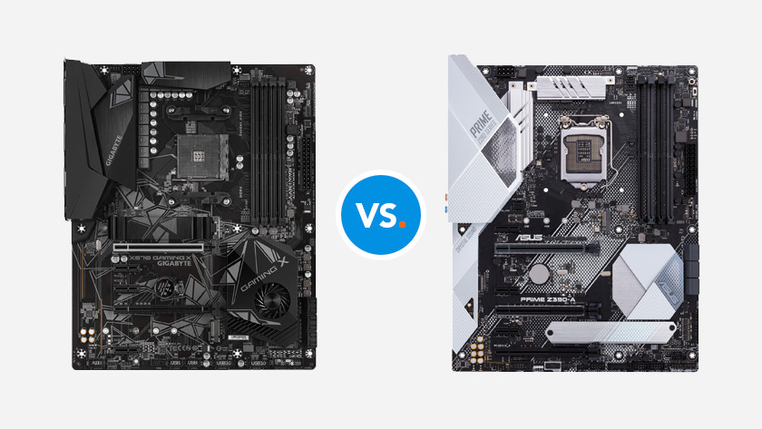 AMD vs Intel chipset motherboard