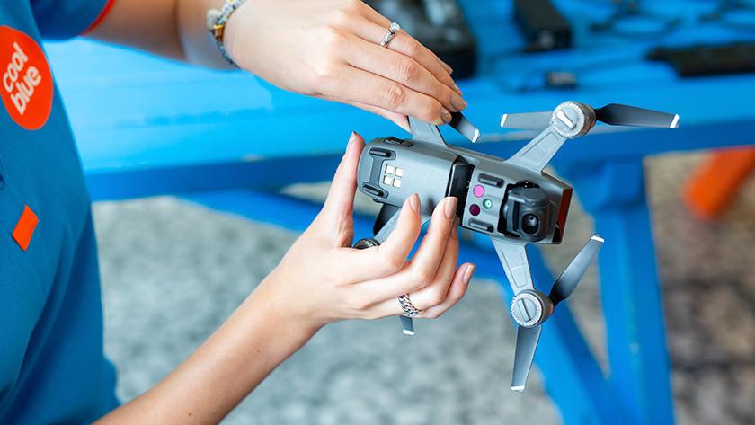 Aan de slag metje drone
