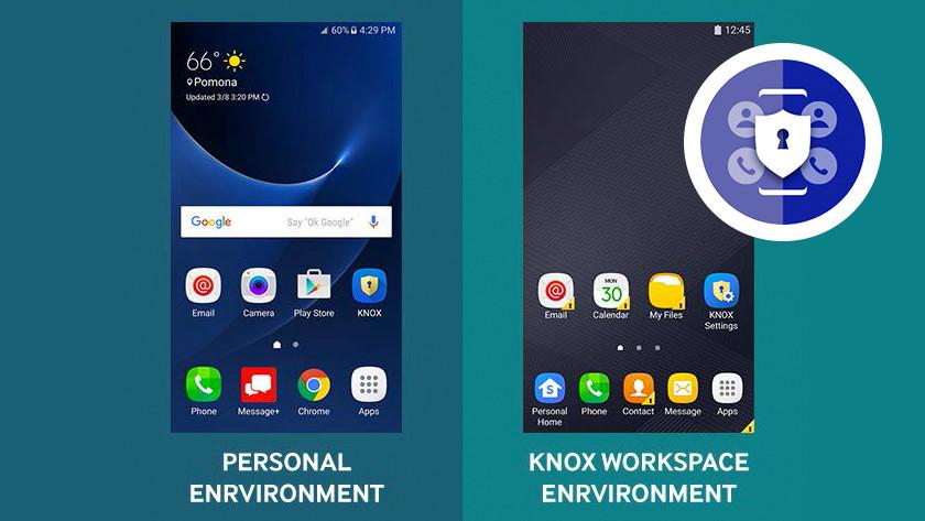 Samsung Knox Workspace
