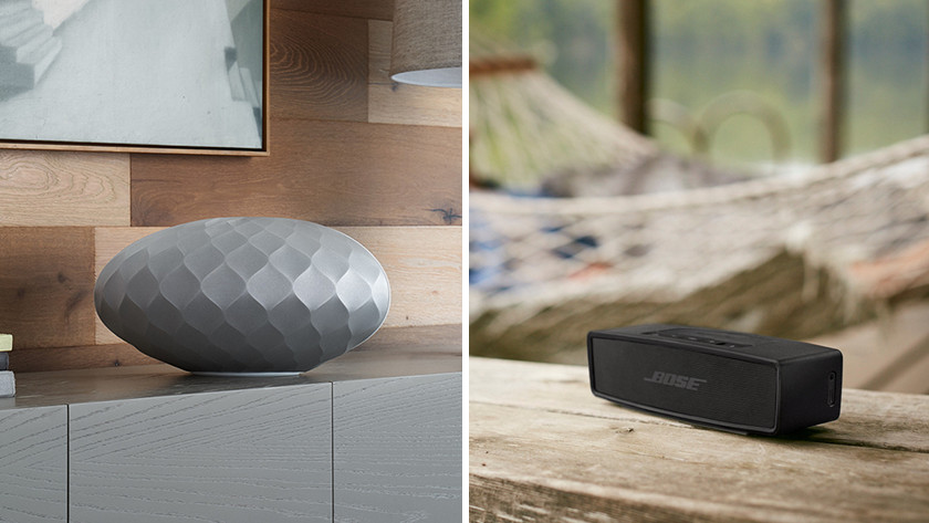 Wifi speaker en bluetooth speaker