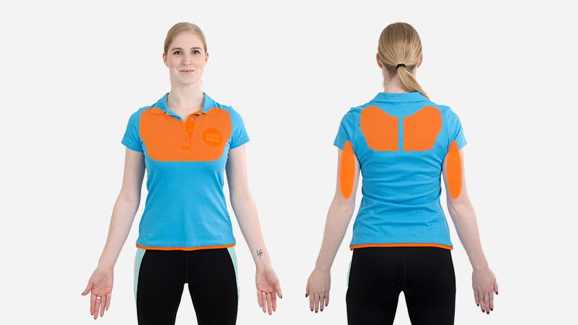 spieren push-up bosu bal