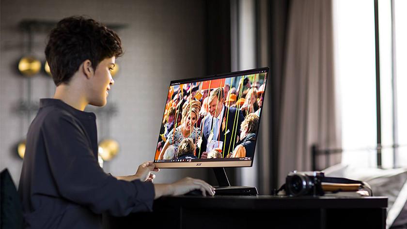 Ruimte 4K monitor
