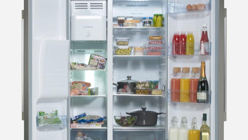 Réfrigérateur rempli