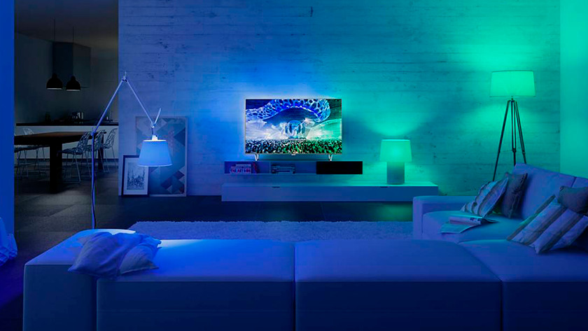 Ambilight et Philips Hue