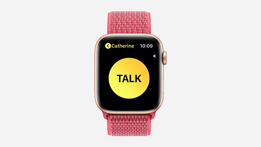 Lancer une conversation talkie-walkie