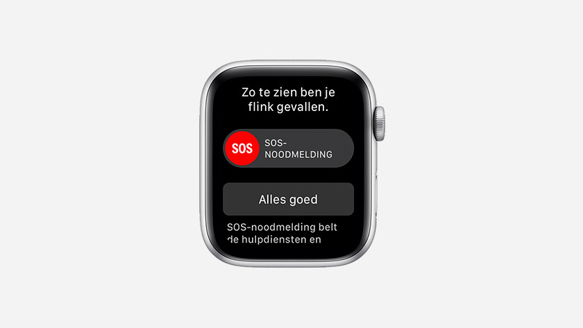 Détection des chutes de l'Apple Watch Series 4