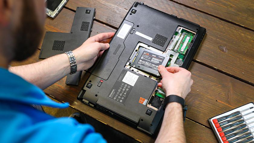 Installer un SSD dans un ordinateur portable