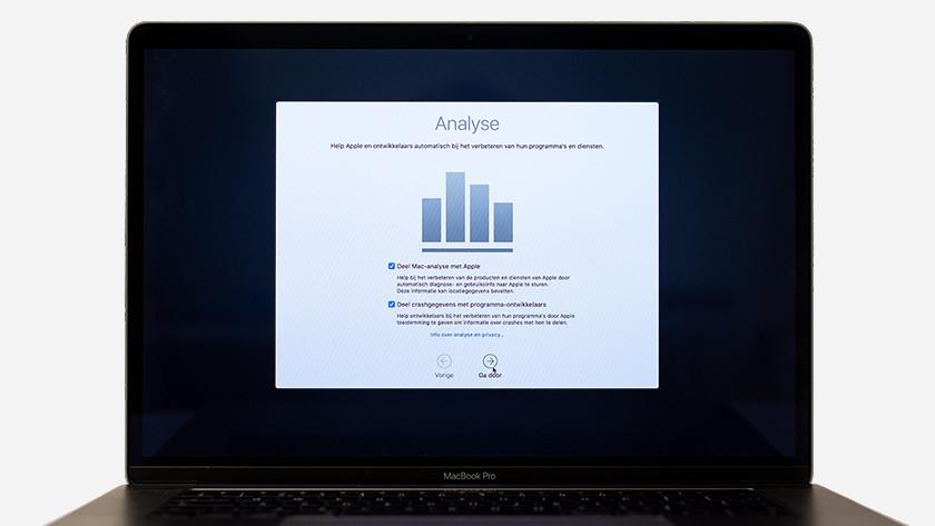 MacBook analyse