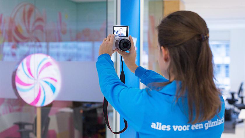 Vloggen systeemcamera