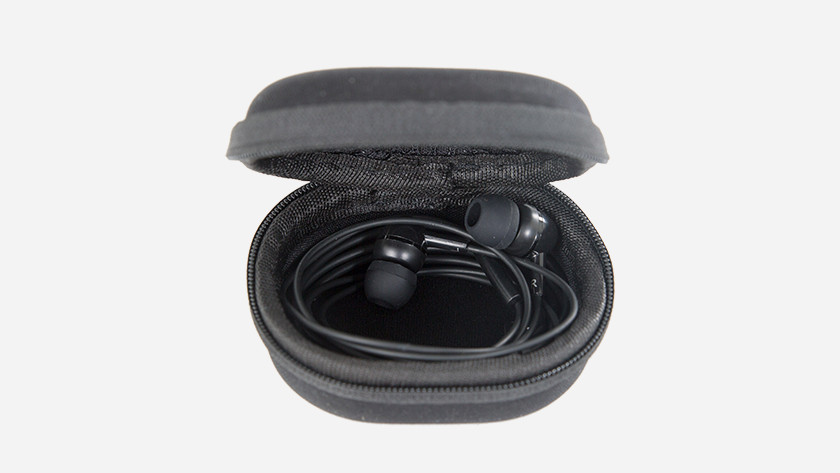 Store your earbuds/headphones neatly