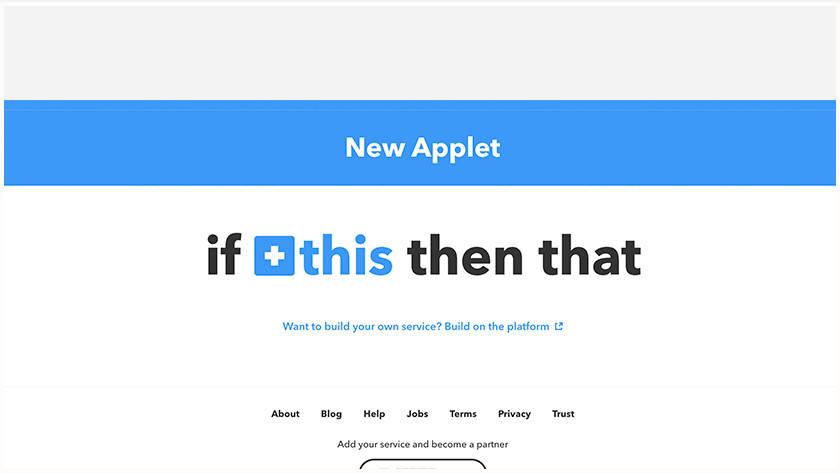 Wat is IFTTT