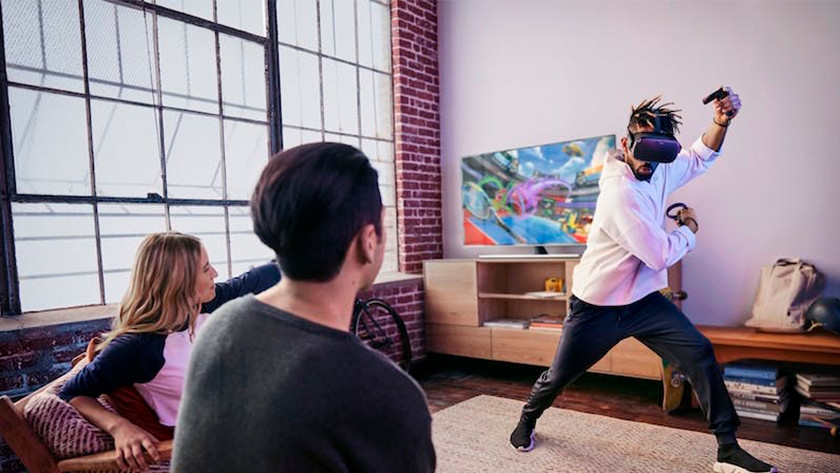 wireless VR with Oculus Quest