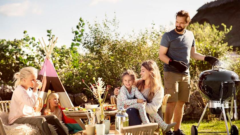 Barbecue met kinderen