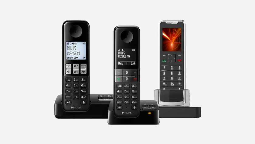 Landline telephone for home use