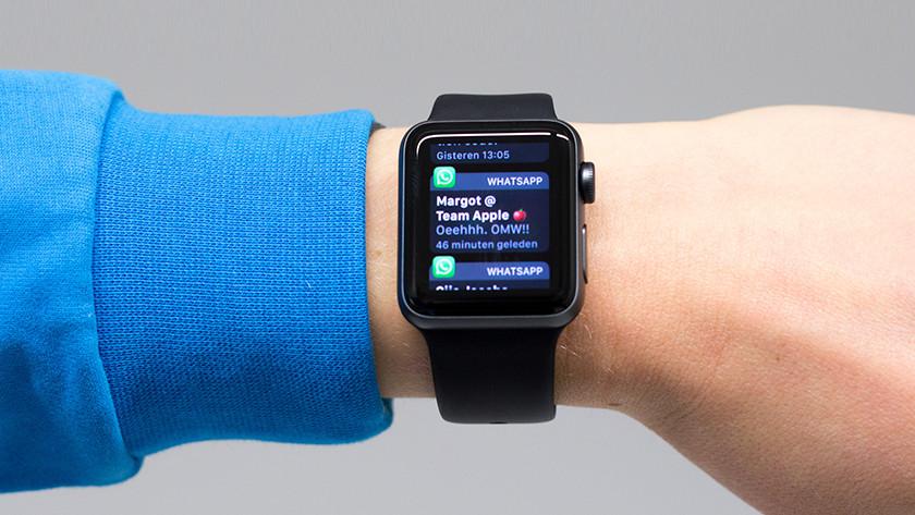 Appjes ontvangen op Apple Watch 3