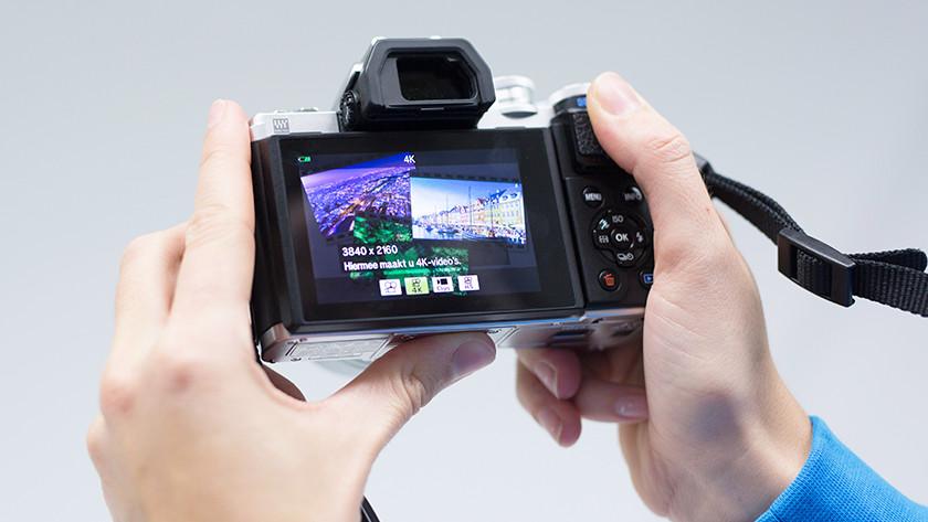 Olympus E-M10 video