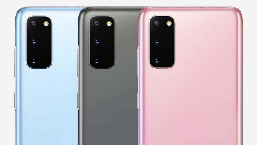 Samsung S10 and S20 battery difference
