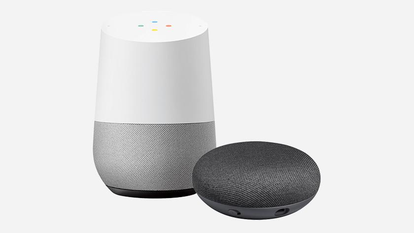 De Google Home uit de verpakking
